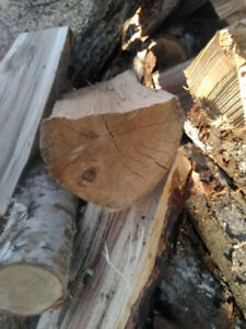 Seasoned full cords of Hardwood cut and split and delivered!