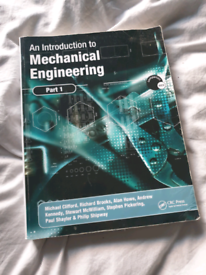An Introduction to Mechanical Engineering Part 1 Paperback
