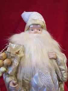 Decorative Holiday Elegance Christmas Santa Clause Statue Figure Regina Regina Area image 2