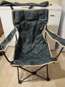 2 New Folding Camp Chairs @ $10.00 each