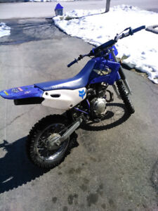 2000 Yamaha ttr 125 package deal