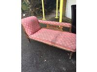 Edwardian chaise lounge