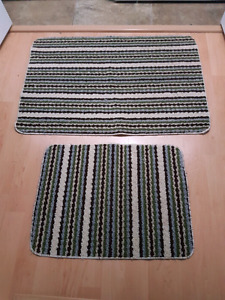 Door Mat and Matching Shoe Mat