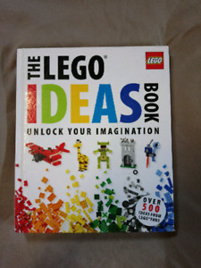 Lego Ideas book- unlock your imagination  like new
