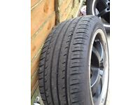 17 inches alloy wheels with used tyres £199.00