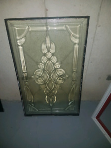 Door glass insert