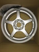 16X7, 4X100/114.3 MULTIFIT RIMS *CLEARANCE* FITS MANY VEHICLES