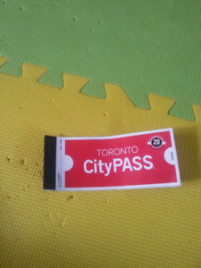 Ticket for Toronto  zoo  or science  center