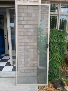 A Sliding Screen Door and 2 Side Lites