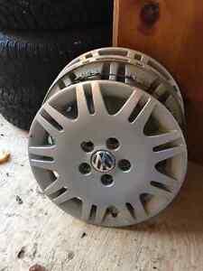 "15"" Pirelli Snow Tires + Rims London Ontario image 2"