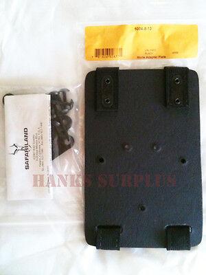Safariland US Military MOLLE Leg Vest Pack Gun Holster Adapter Plate Kit 6004