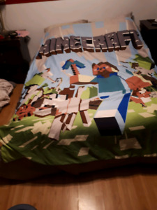 Minecraft Queen Size Duvet