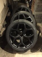 "20"" federal winter tire and bmw replica wheels NEW"