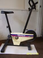 Exercise Bike with distance, speed, time and calories.