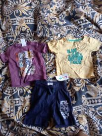 Boy clothes bundle size 6-12 months