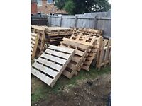 30 wooden pallets for free.