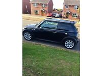 Mini Cooper s..black 2004 supercharged