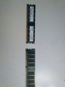 2x512MB of DDR Ram $10