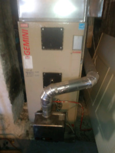 Hot Air Furnace w/new ductwork and extras.