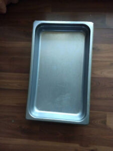 Stainless Plate for Hot Food Display