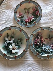 Decorative Hummingbird Plates