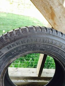 """17"""" studded winter tires"""