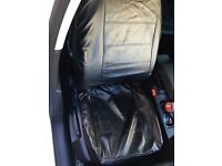 Universal full back leather seat covers