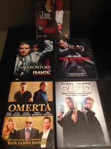 Lot de films DVD