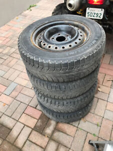 Michelin X-ice Tires 195/65 R15