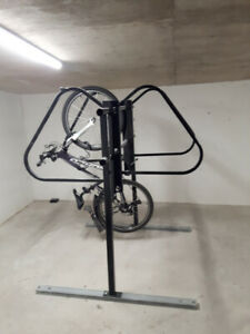Heated underground storage for your bicycle