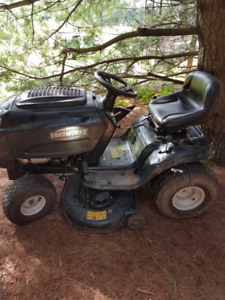Yardworks 22.0HP Lawn Tractor and Mower Deck