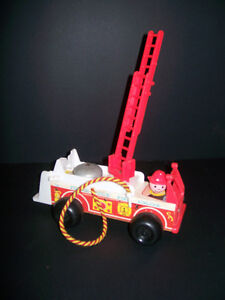 Vintage Fisher-Price Fire Engine