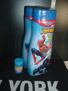 2 SPIDER-MAN BUBBLE BATH (BRAND NEW)