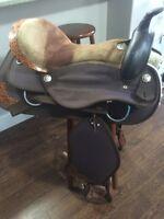 western saddle set