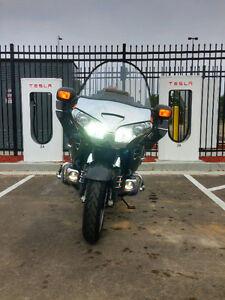 2010 Honda Gold Wing with accessories