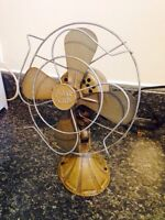 Antique Polar Cub Art Deco Fan (works)