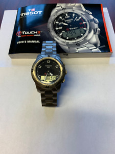 "Men""s Watch Tissot T-Touch Titanium in excellent condition."