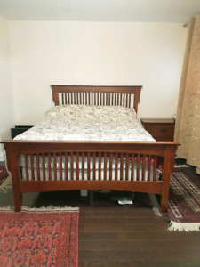 Wood Bedroom Set For Sale