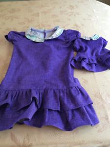 2 Purple Dresses