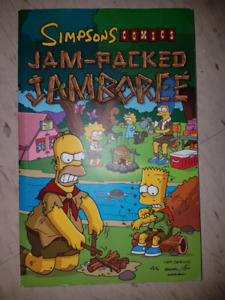 The Simpsons Jam-Packed Jamboree Comic