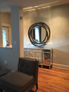 Large Modern Wall Mirror - Uttermost Brand