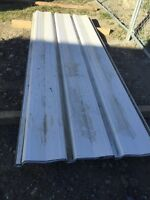 """White cladding • 101"""" x 36"""" • LiKe NEW • metal sheets • roof"""