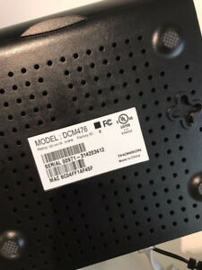 Thomson Cable Modem DCM476 - Mint Condition