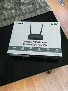 D-Link N300 Wireless Router *NEW PRICE*