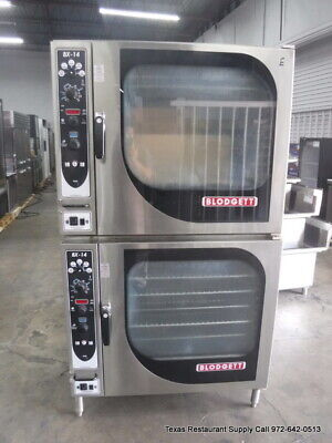 Blodgett Bx14e Full Size Double Electric Combi Oven - Year 2015