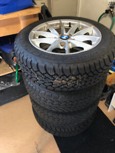 Pneu d'hiver avec mag / Winter tires with mags
