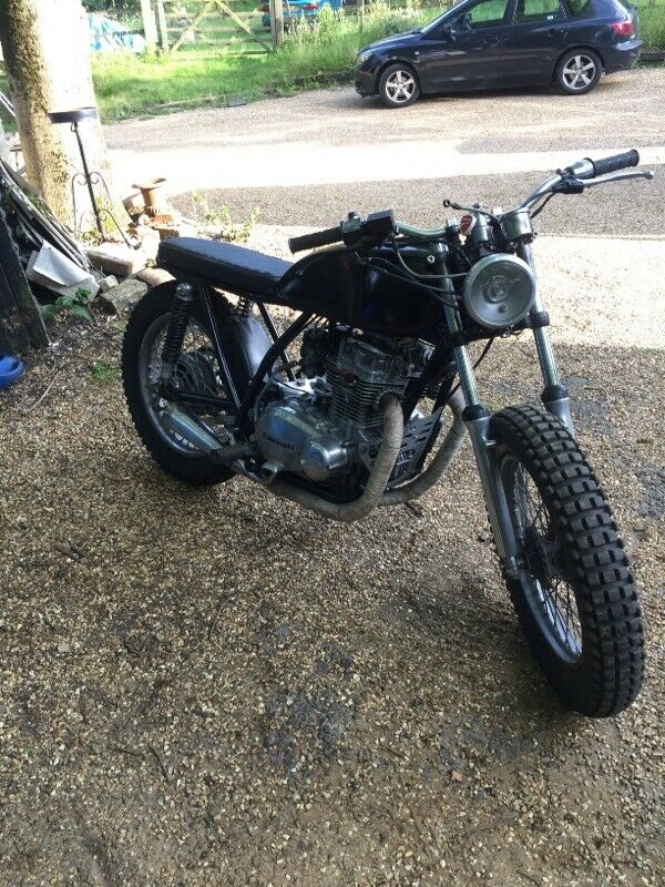 Surprising 1979 Kawasaki Kz400 Scrambler In Ipswich Suffolk Gumtree Gmtry Best Dining Table And Chair Ideas Images Gmtryco