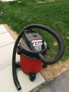 Craftsman 4.5hp wet dry vac