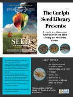 Guelph Seed Library Fundraiser