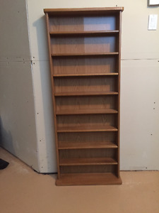 CD Bookcase for 450 CDs